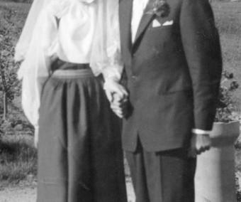 Maj-Britt och Helmer 1956