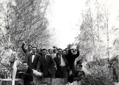 Bröllopsfölje 1956