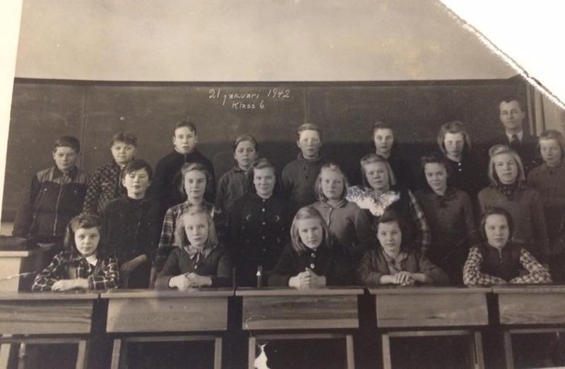 Klass 6, år 1942