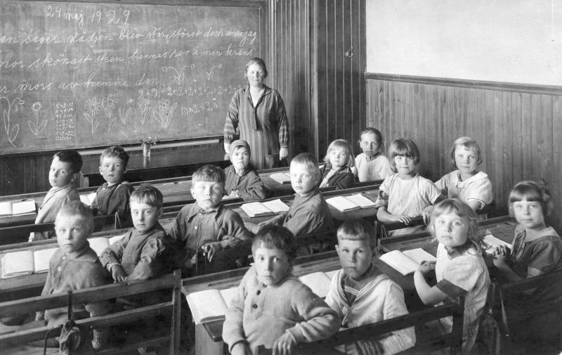 Ryssa skola 1929