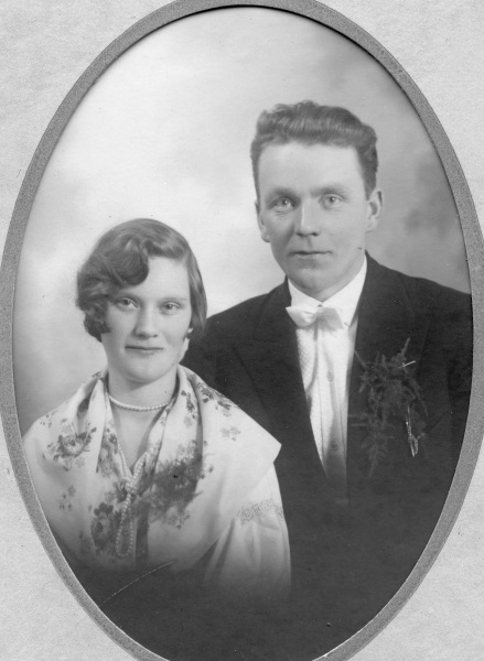Brudpar 1930