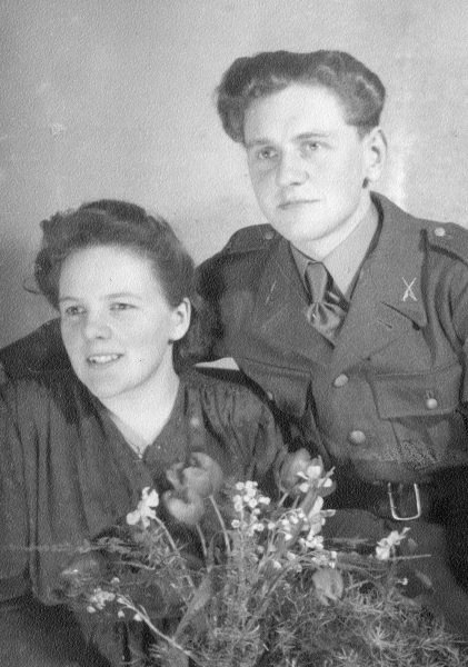 Brudparet Norén 1943