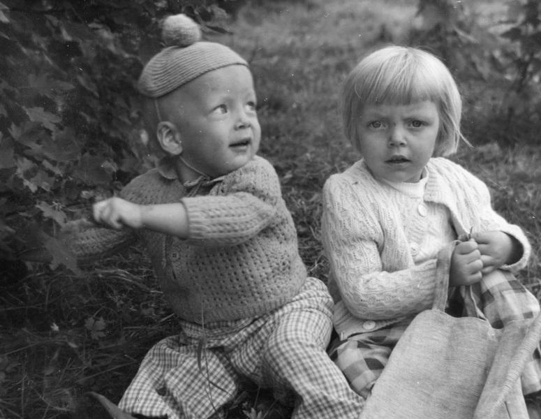 Per-Erik och Margareta 1953