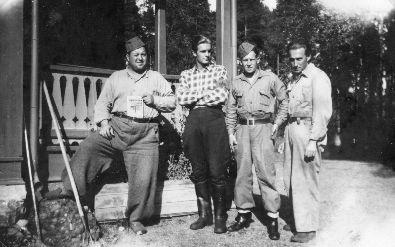 Luftbevakare i Vimo-sågen 1941