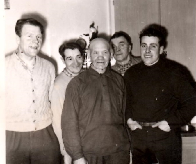 Fem män