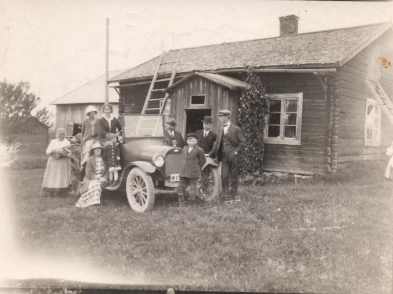 Bilbesök på Sollerön