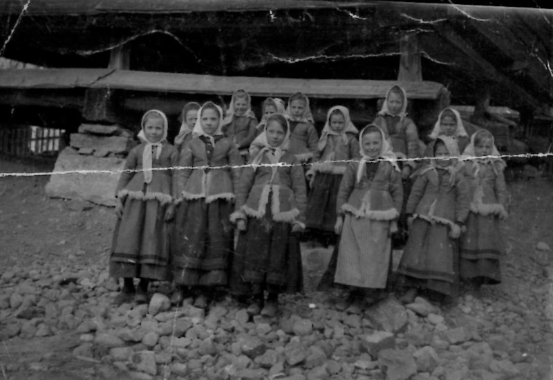 Små kullor på Sold ca 1904