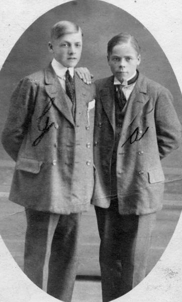 Gunnar och Anton