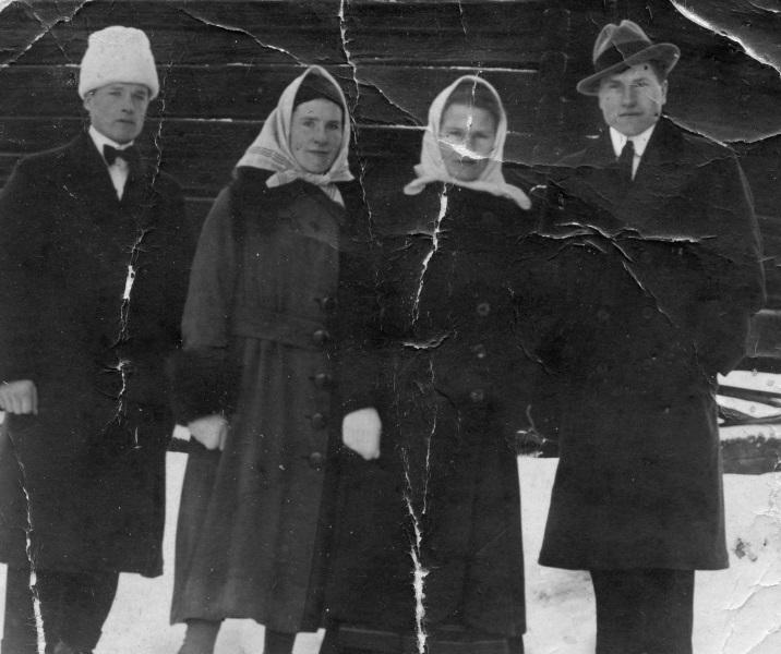 Johan, Maria, Anna och Karl