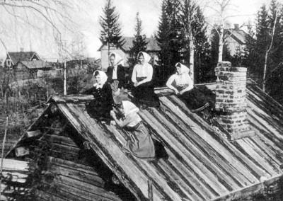På taket i Gesunda