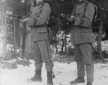 Två militärer