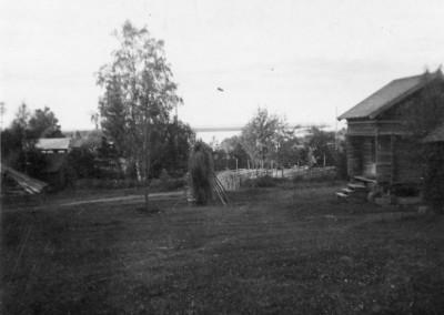 """Från """"fjos-fönstret"""" i Gesunda 1936"""