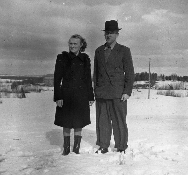 Margit och Erik