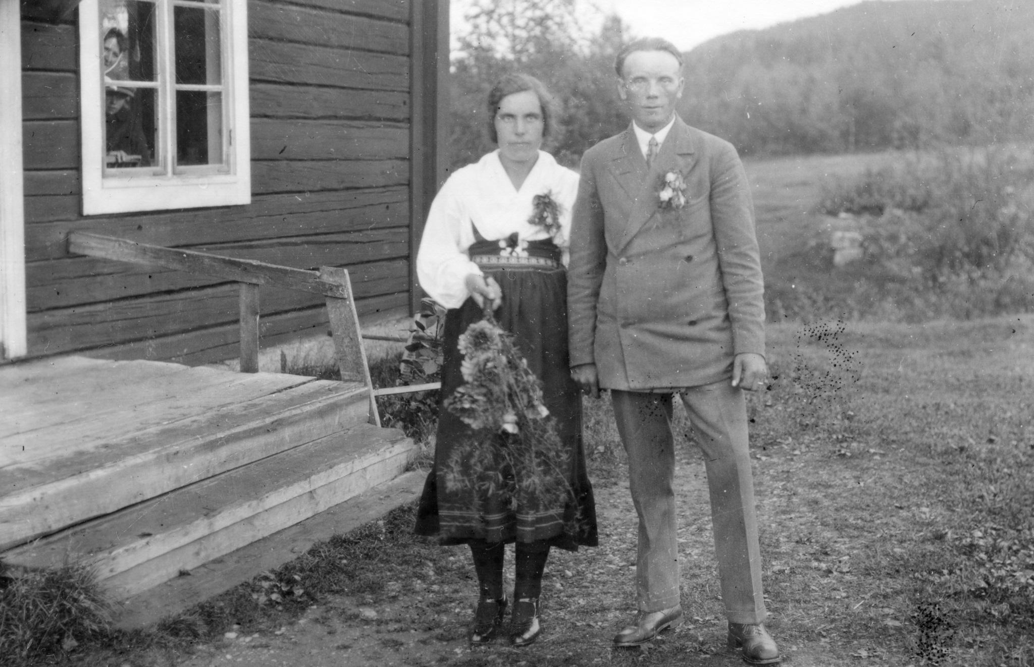 Anna och Mås Anders gifter sig