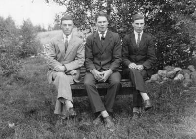 Daniel, Lars och Einar
