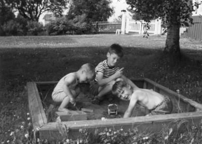 Bengt-Arne, Anders och Lars-Erik i Rättvik