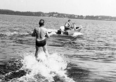 Vatten-skidor