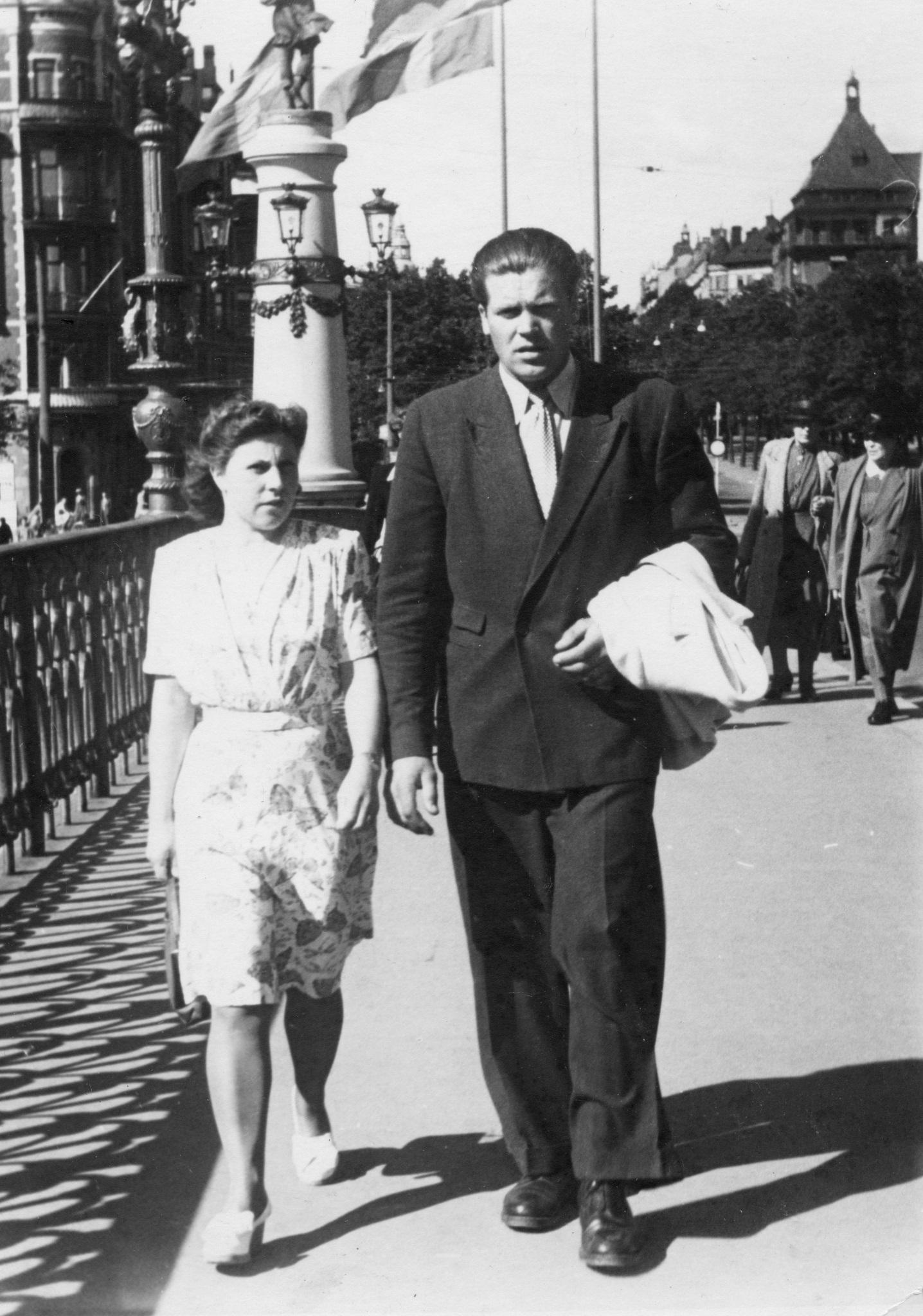 Karin och Karl Hinders