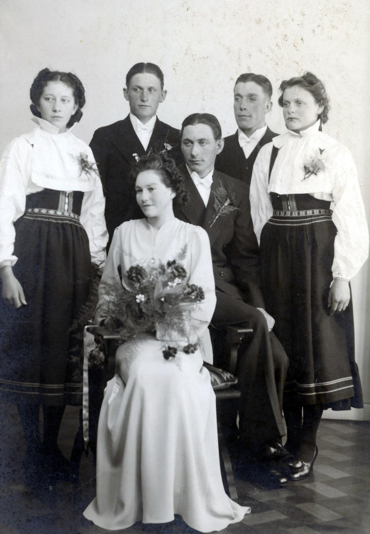 Sixten och Anna gifter sig