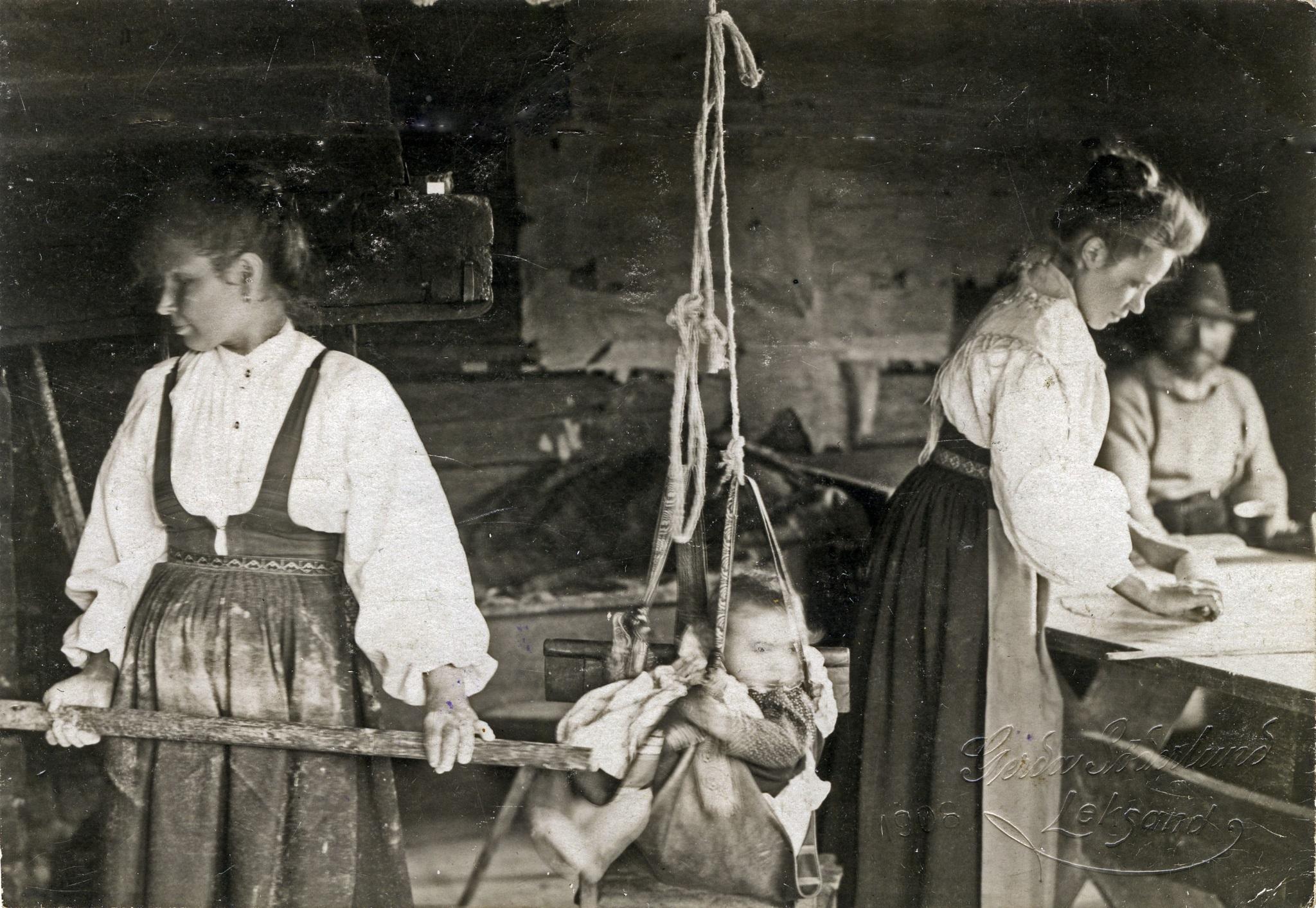 Bakning i Markusgården Gruddbo