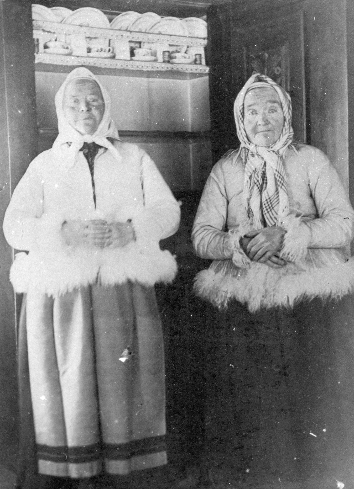 Två fina tanter
