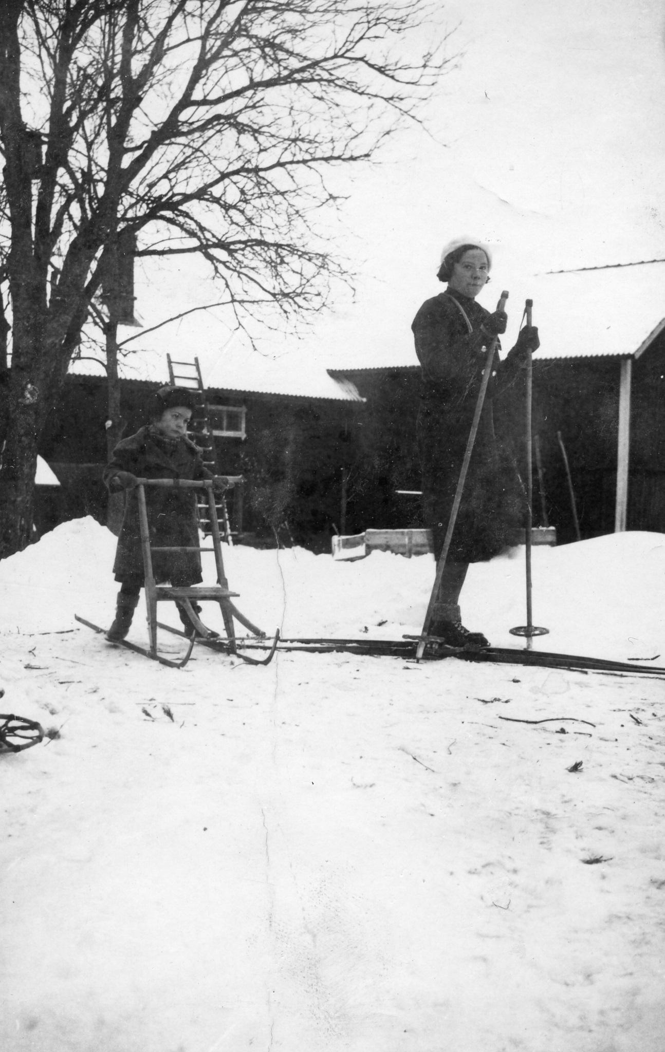 """""""Vinter göra"""" 1935"""