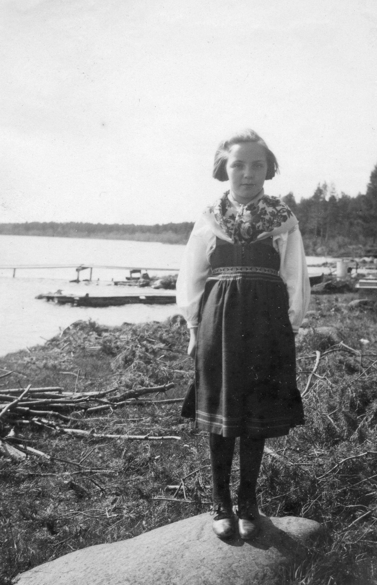 Vid Siljans strand 1942