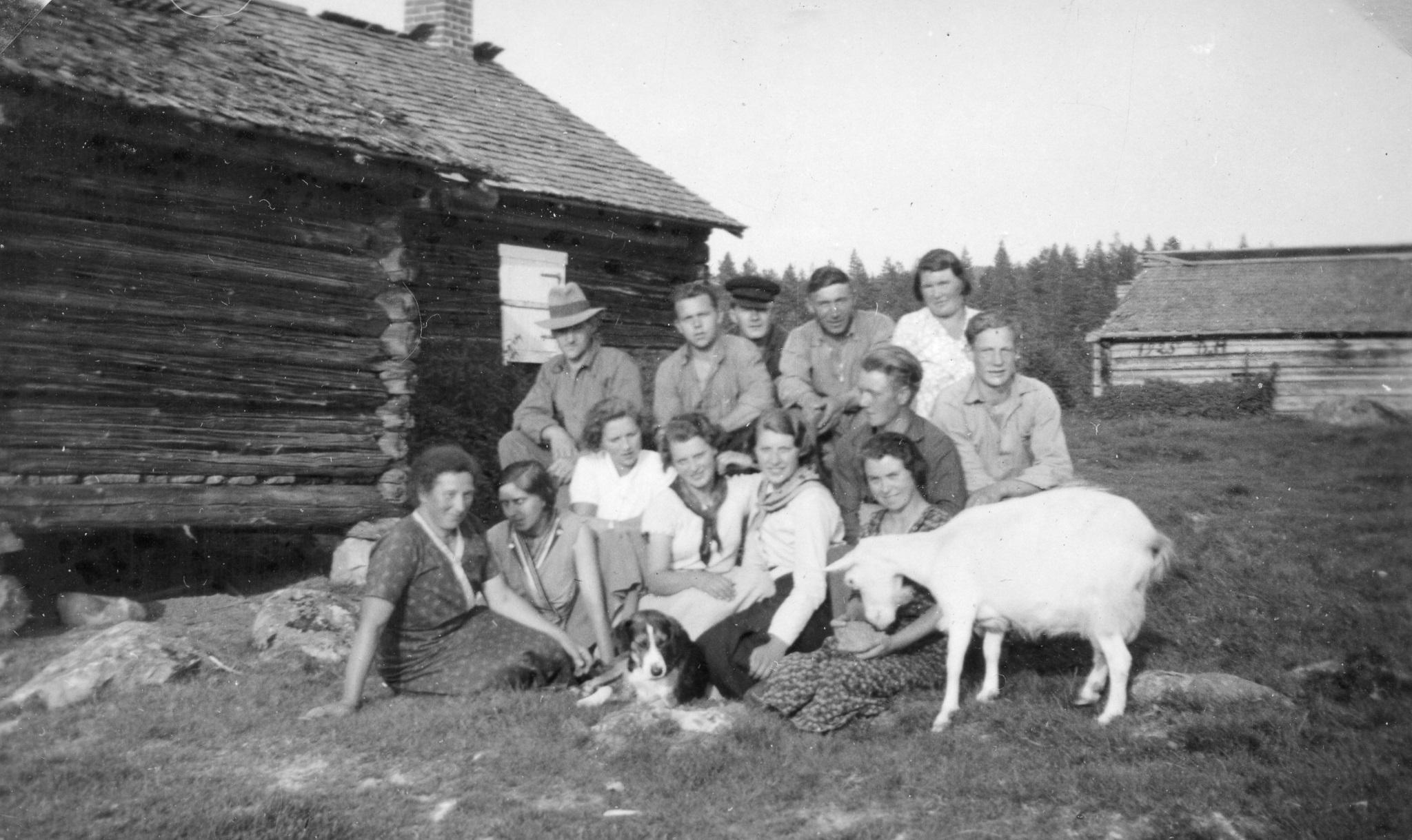 Sälens fäbod 1935