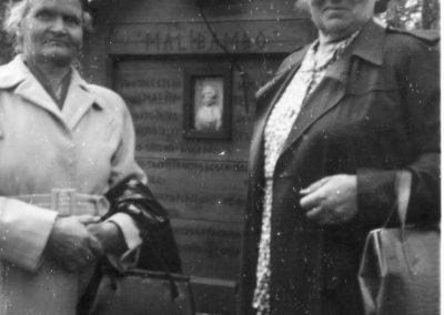 Margit och Anna vid Malibambo