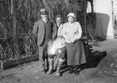 Anders, Anna och Jarl Nordling 1936