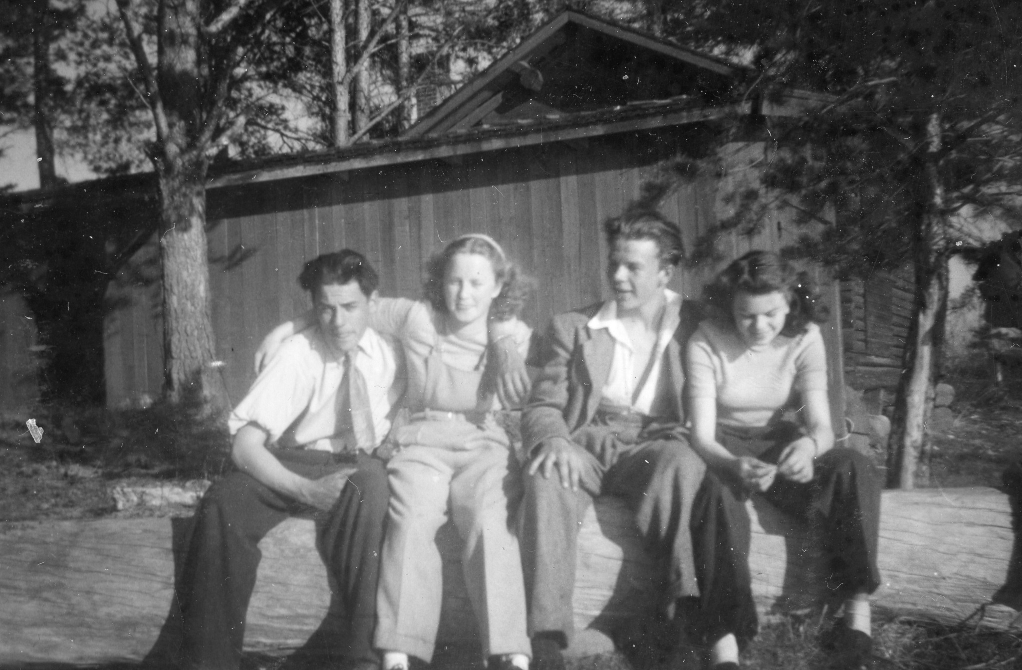 Åke, Karin, Per och Ellen