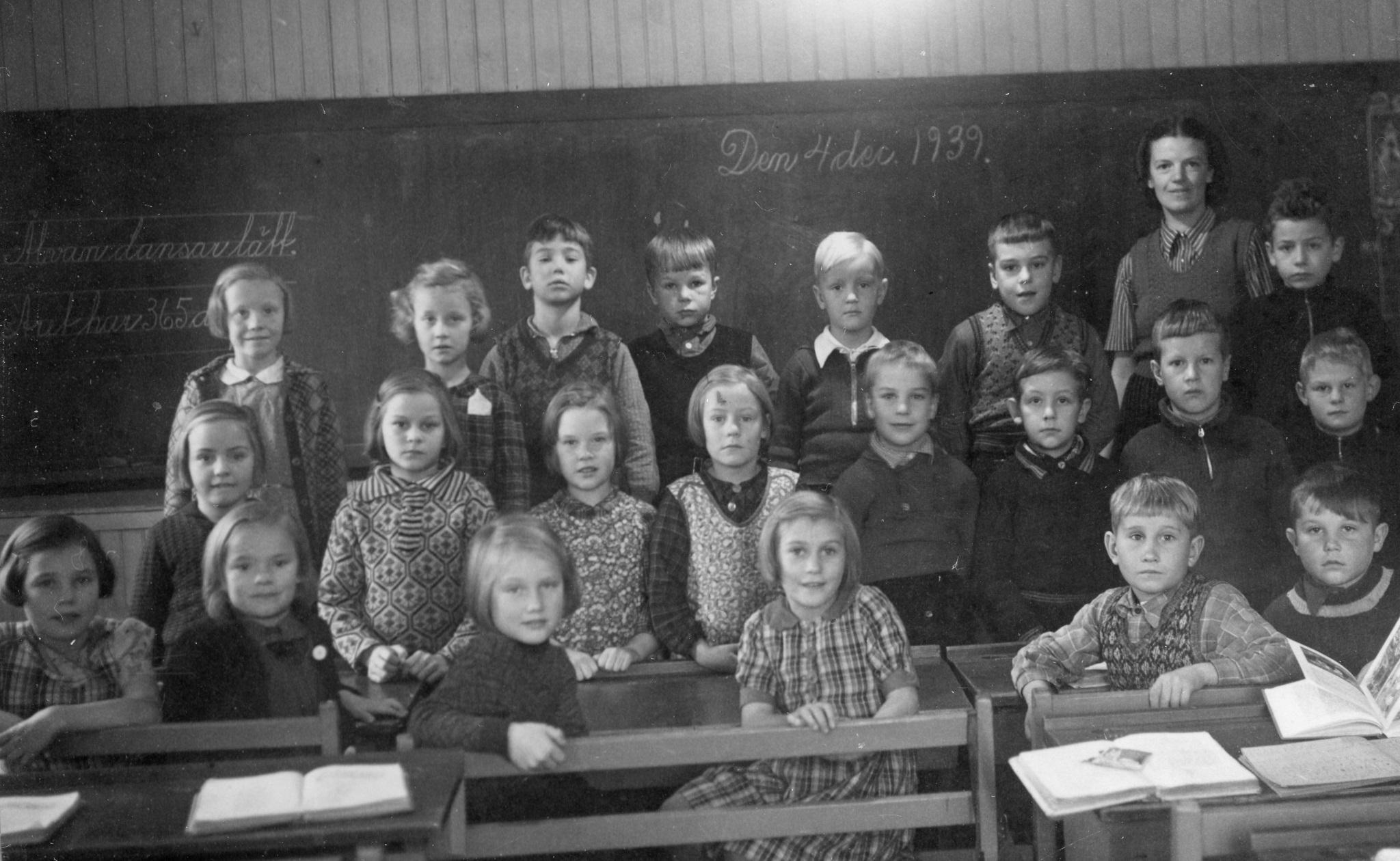 Klass två 1939