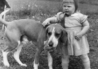 Hund och barn