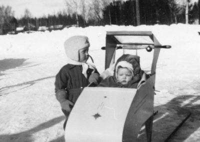 Två barn 1959