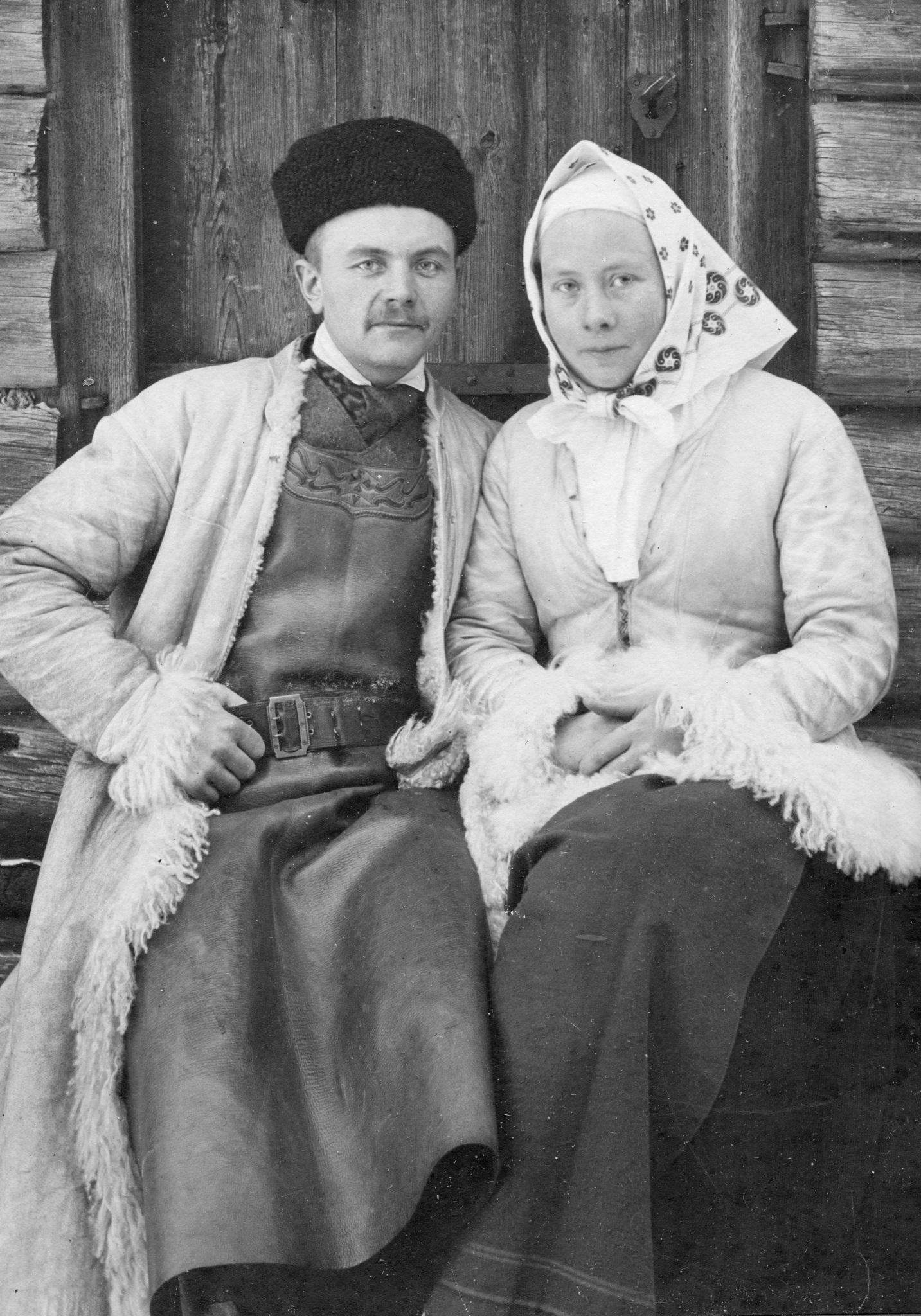 Bond Erik och Mats Kristina