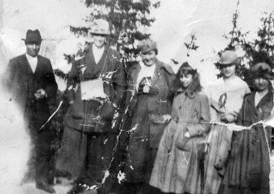 På Gesundaberget juni 1920