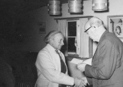 Karl Lärka och okänd
