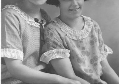 Två flickor i Minneapolis
