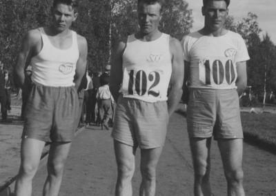 Tre idrottsmän
